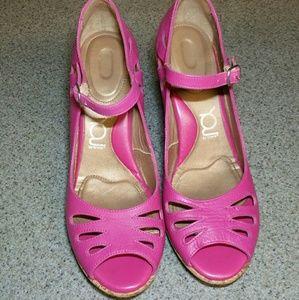 CROCS Shoes - Pink Croc Wedges